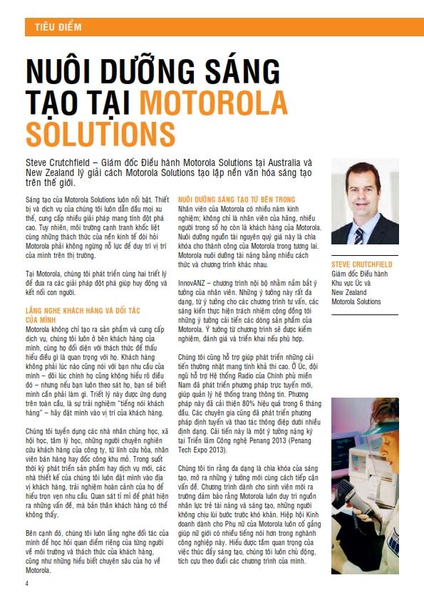 Motorola lắng nghe và thấu hiểu