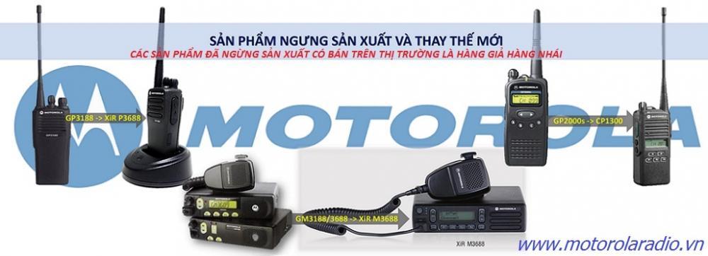 MOTOROLA XIR P3688 NHÀ PHÂN PHỐI CHÍNH THỨC