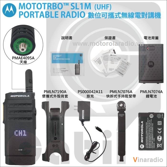 Máy bộ đàm Motorola SL1M - NHÀ PHÂN PHỐI